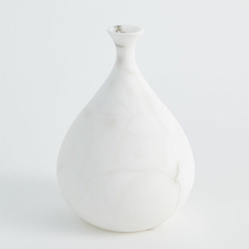 Global Views - Alabaster Teardrop Vase, Small
