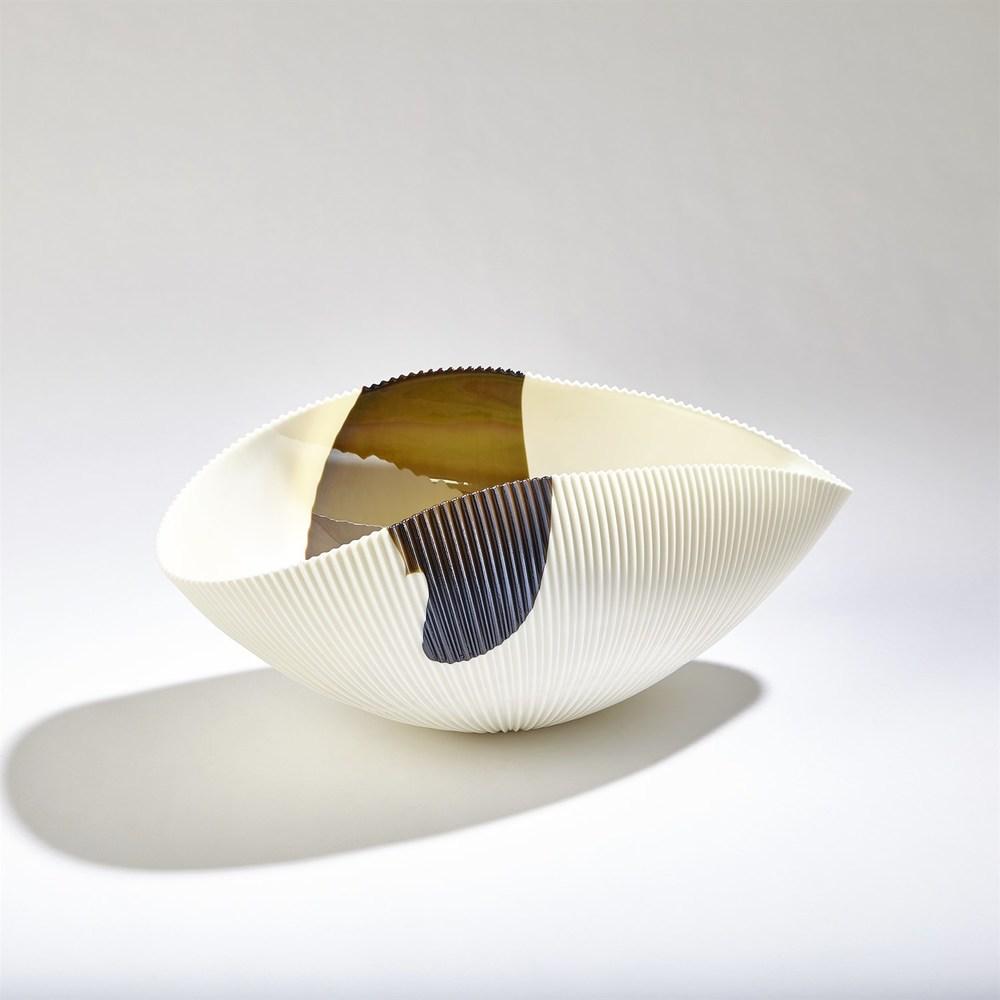Global Views - Pleated Bowl, Medium