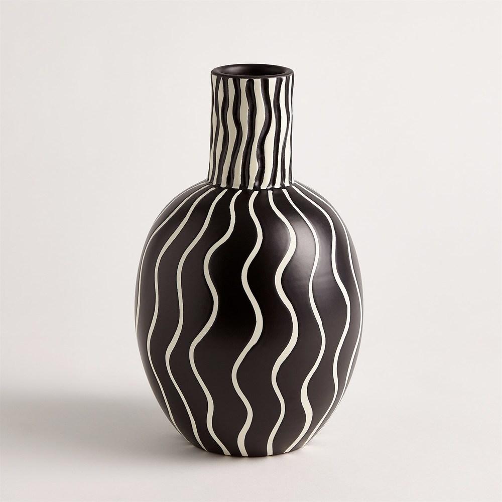 Global Views - Graphic Gourd Vase
