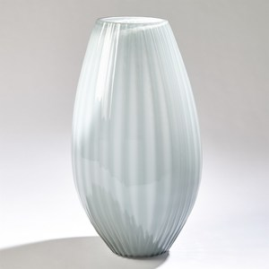 Thumbnail of GLOBAL VIEWS - Cased Glass Stripe Vase, Large