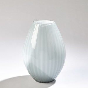Thumbnail of GLOBAL VIEWS - Cased Glass Stripe Vase, Small