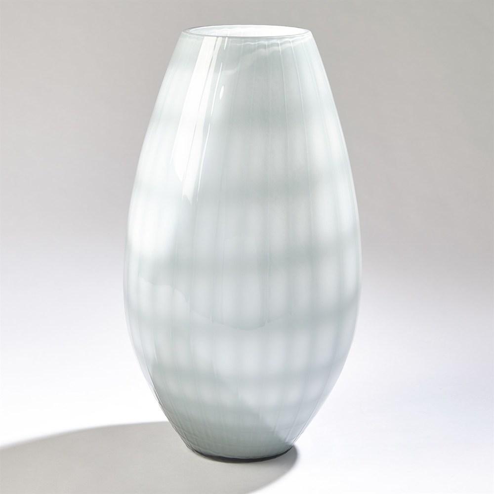Global Views - Cased Glass Grid Vase, Large