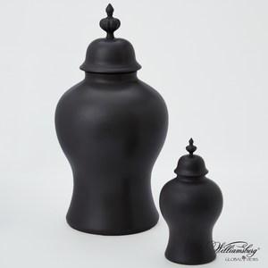 Thumbnail of Global Views - Beaufort Ginger Jar, Matte Black, Small