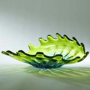 Thumbnail of Global Views - Aqua Lime Venus Bowl
