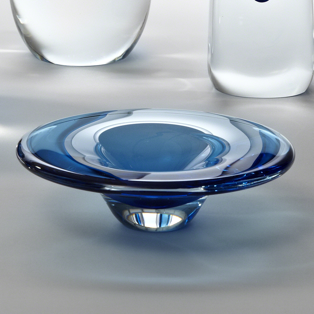 Global Views - Cobalt Glass Dish
