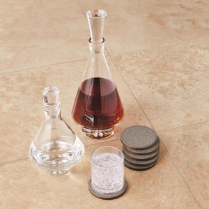 Thumbnail of Global Views - Tall Fat Bottom Decanter, Clear