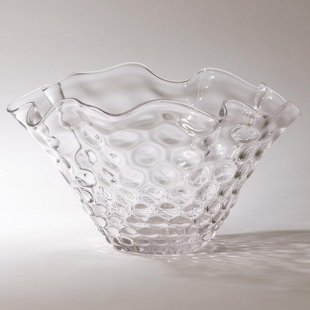 Global Views - Honeycomb Optic Wavy Bowl