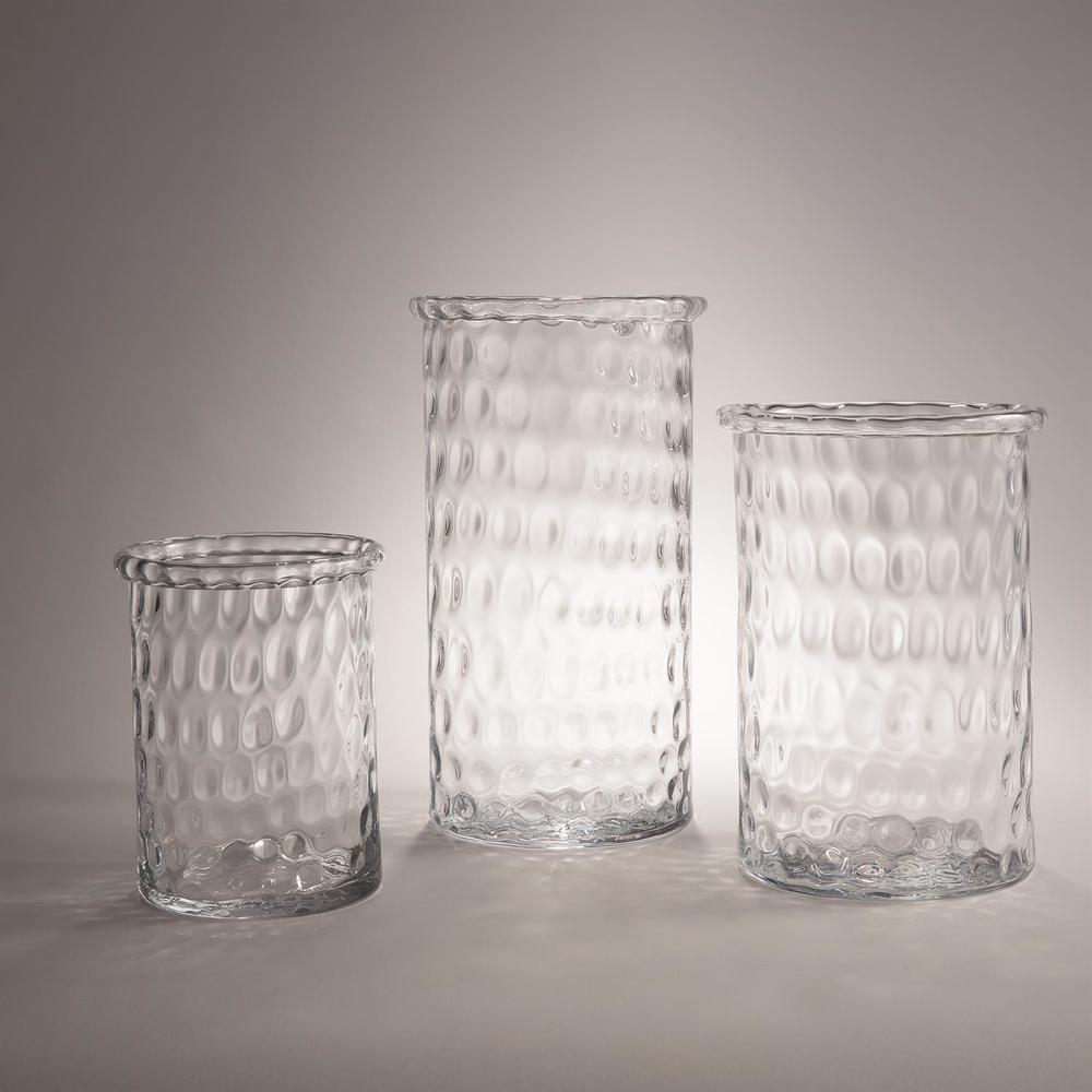 GLOBAL VIEWS - Honeycomb Hurricane Vase