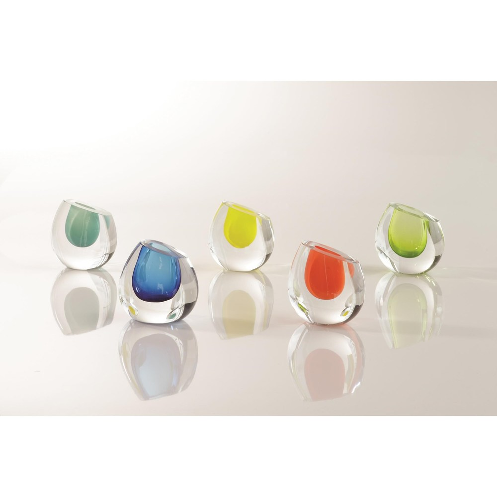 Global Views - Color Drop Vase, Lemon