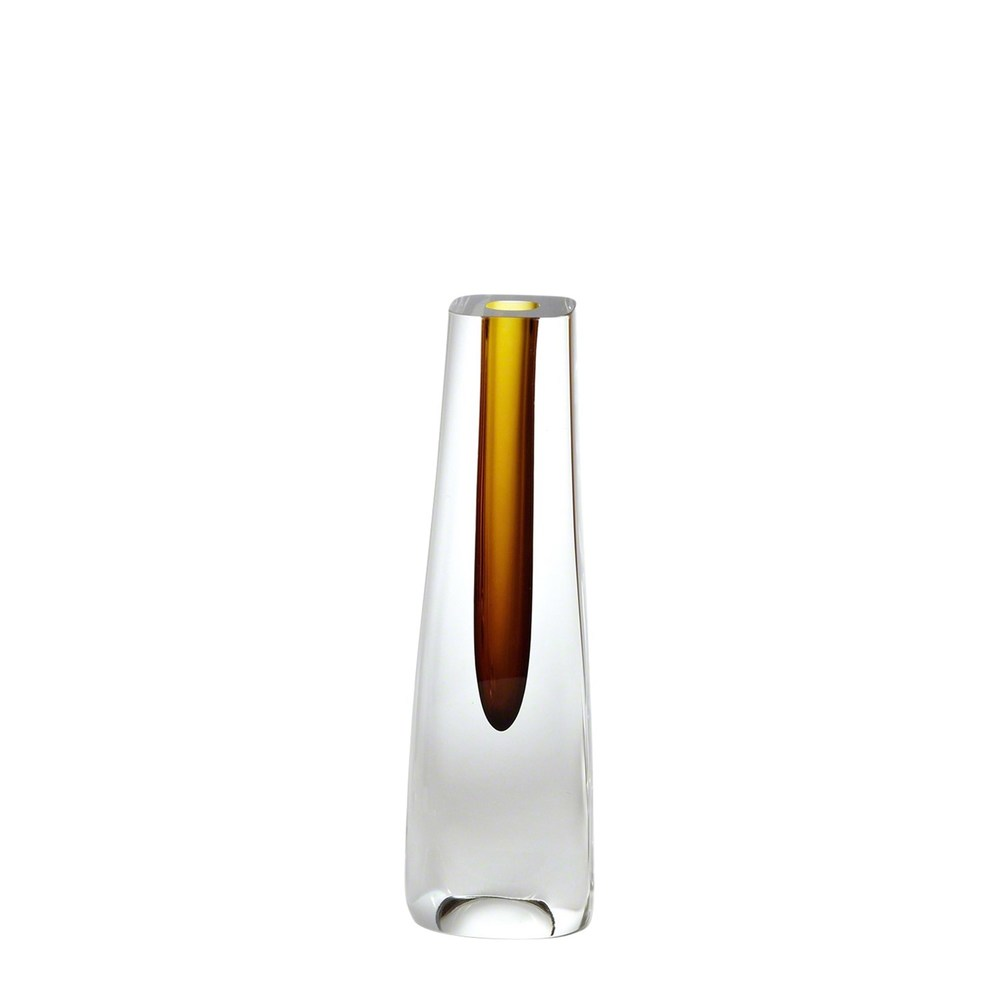 Global Views - Square Cut Glass Vase