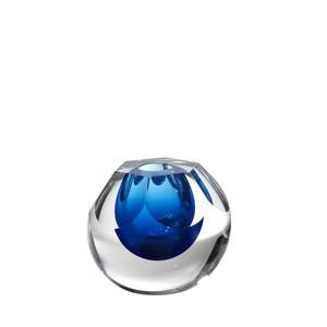 Thumbnail of Global Views - Hexagon Cut Glass Vase