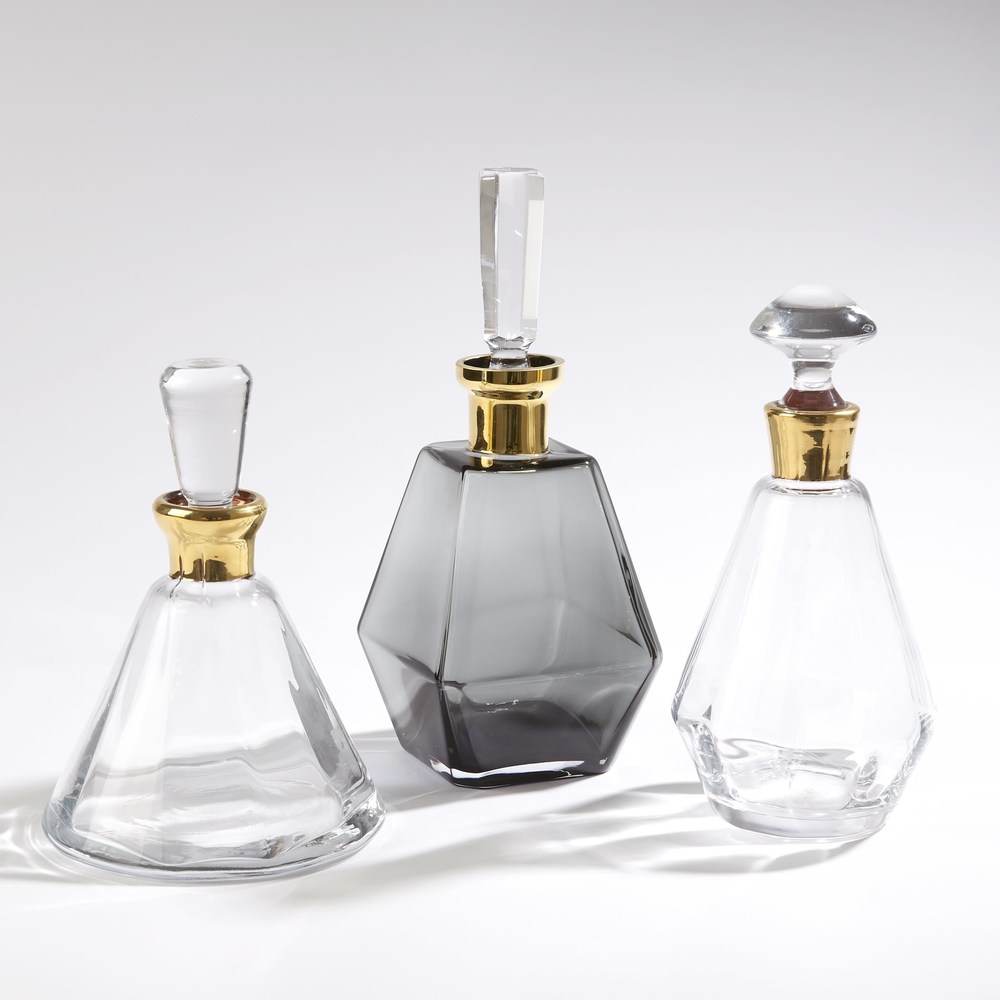 Global Views - Cone Decanter, Gold