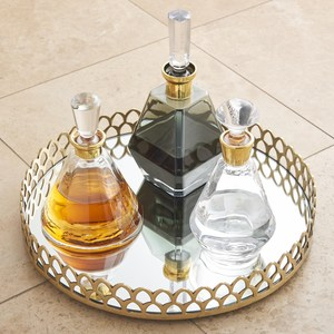 Thumbnail of Global Views - Cone Decanter, Gold