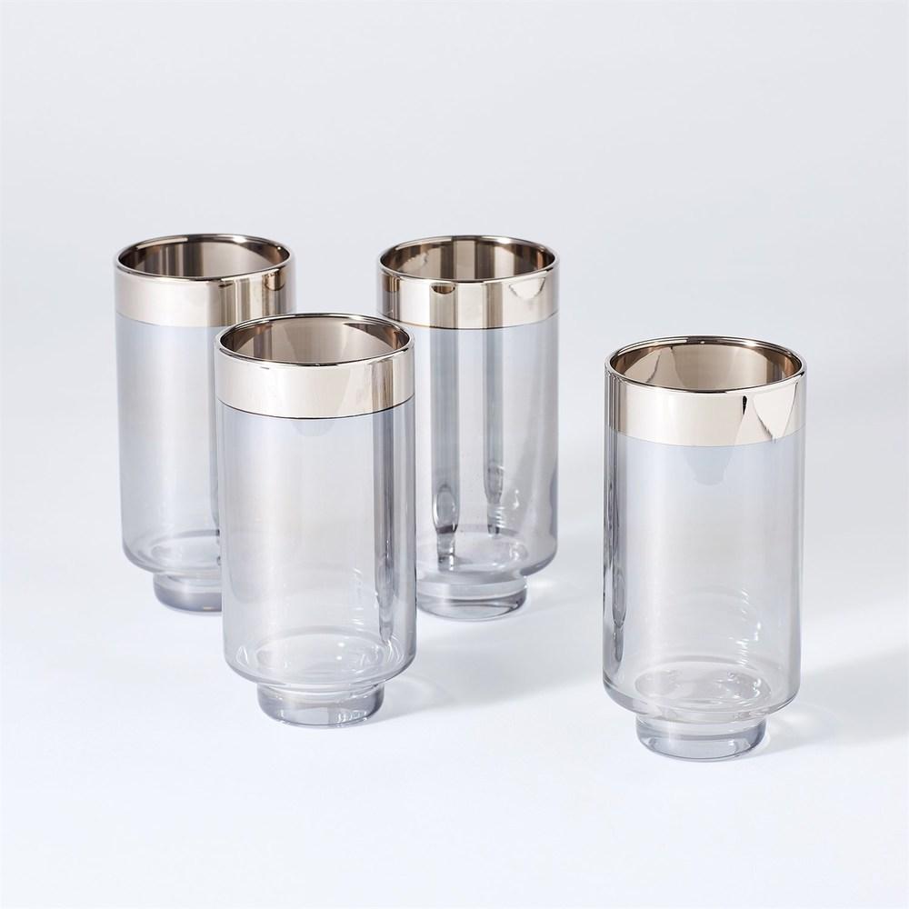 Global Views - Twilight Drinking Glasses, Set/4