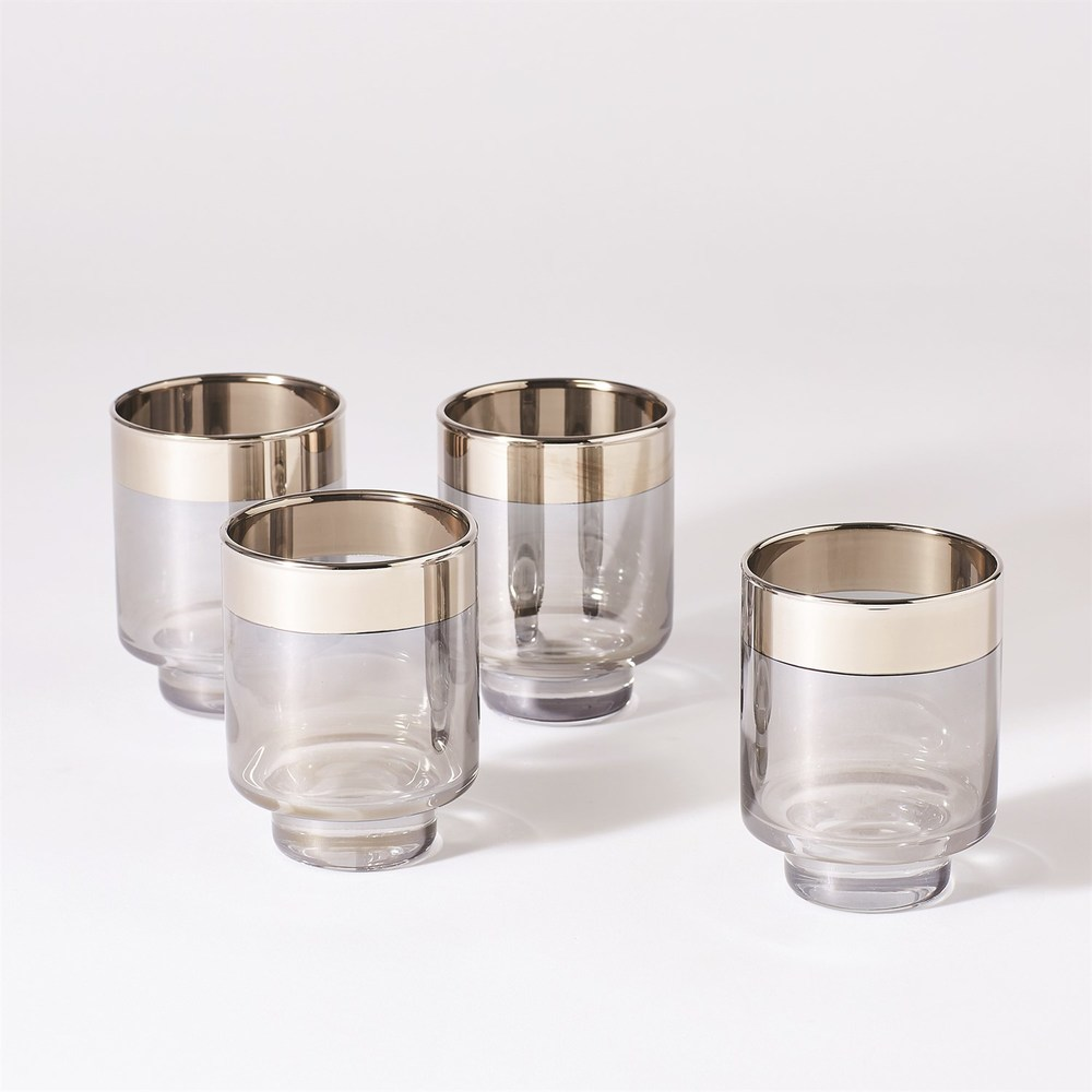 Global Views - Twilight Drinking Glasses, Set/4