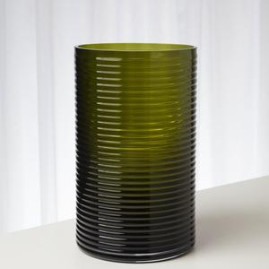 Thumbnail of Global Views - Ribbed Glass Vase