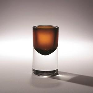 Thumbnail of Global Views - Thick Cylinder Vase, Tobacco, Mini