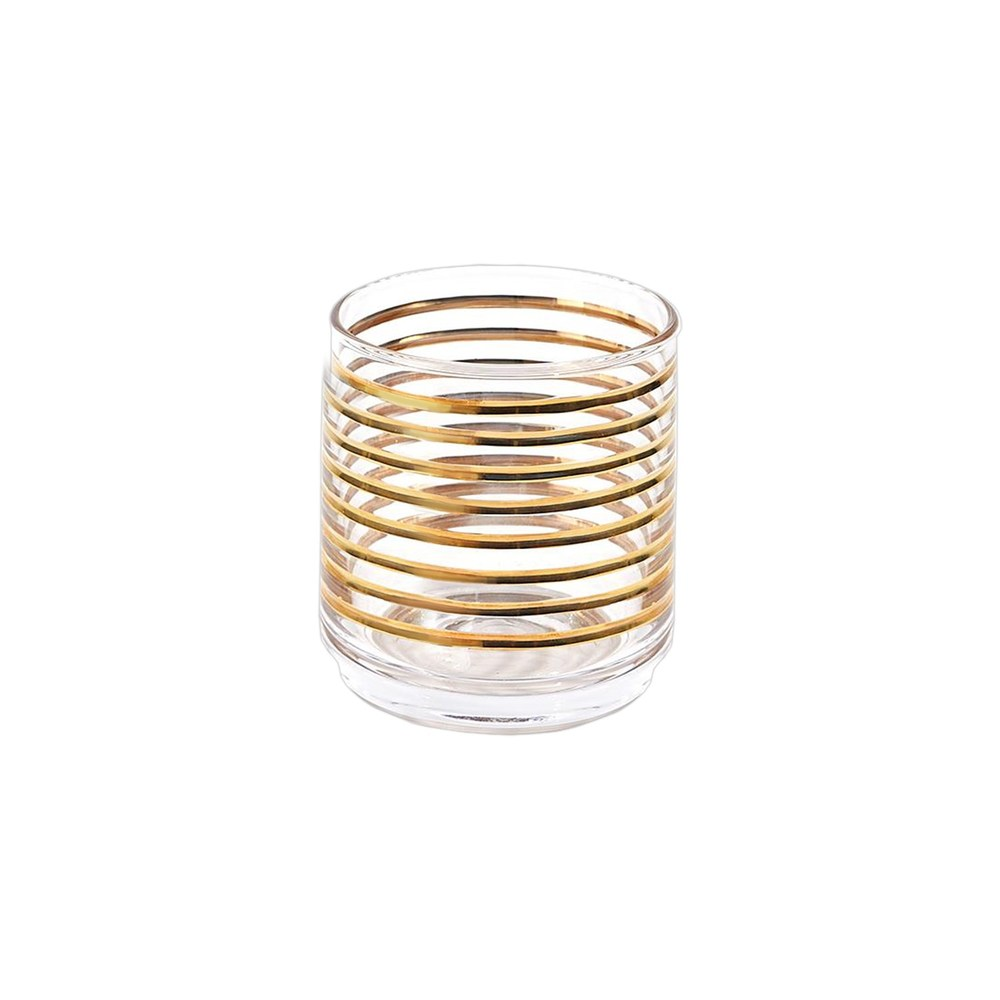 Global Views - Gold Banded Glass, DOF
