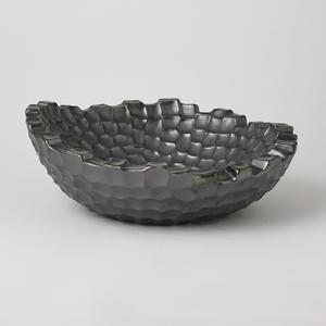 Thumbnail of Global Views - Random Grid Bowl, Graphite
