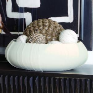 Thumbnail of Global Views - Linen Centerpiece, Soft White