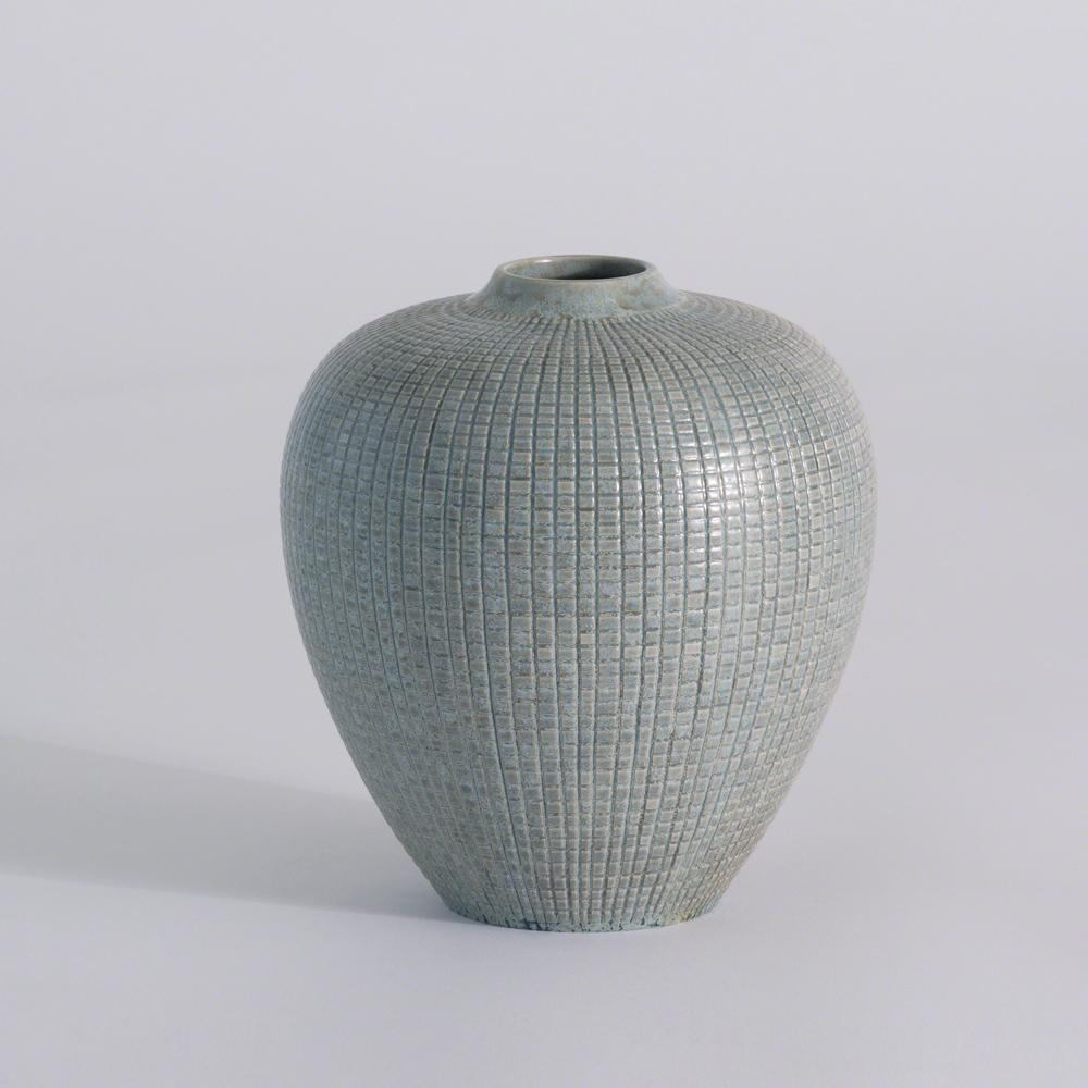 Global Views - Mini Check Bulbous Vase