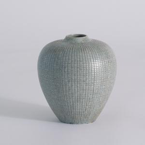 Thumbnail of Global Views - Mini Check Bulbous Vase