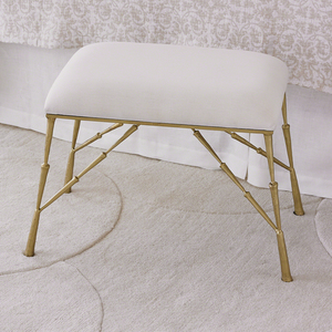 Thumbnail of Global Views - Spike Bench with Muslin Cushion