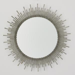 Thumbnail of Global Views - Spike Mirror, Antique Nickel