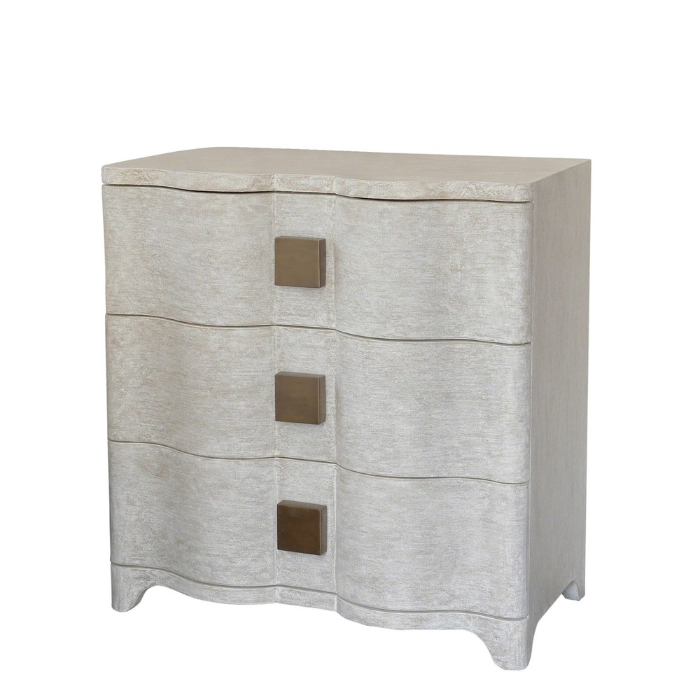 Global Views - Toile Linen Bedside Chest