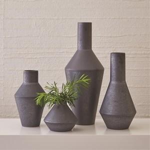 Thumbnail of Global Views - Shaker Vase, Graphite, Squat