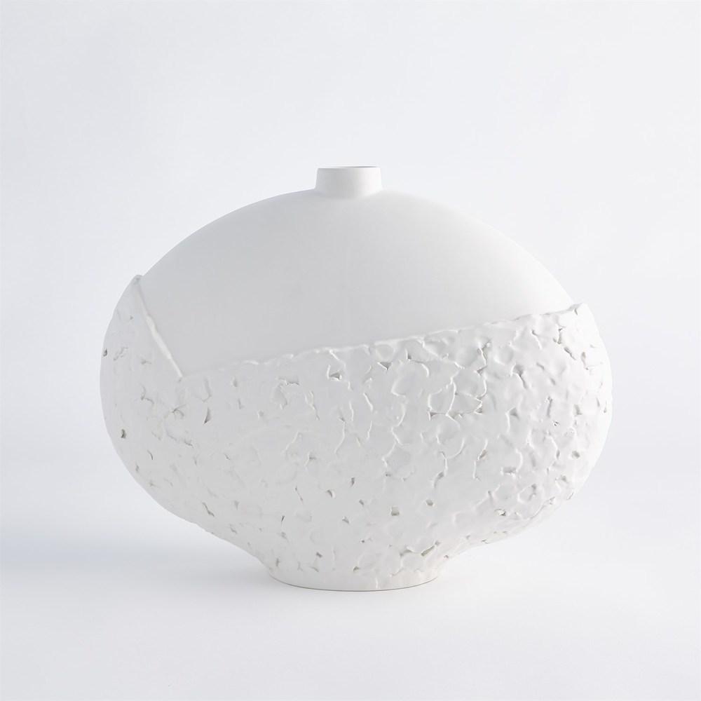 Global Views - Asymmetrical Stipple Vase, Large