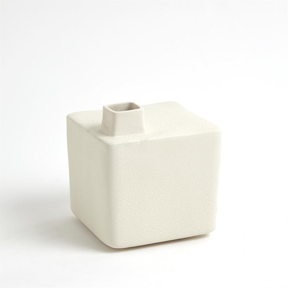 Global Views - Square Chimney Vase, Medium