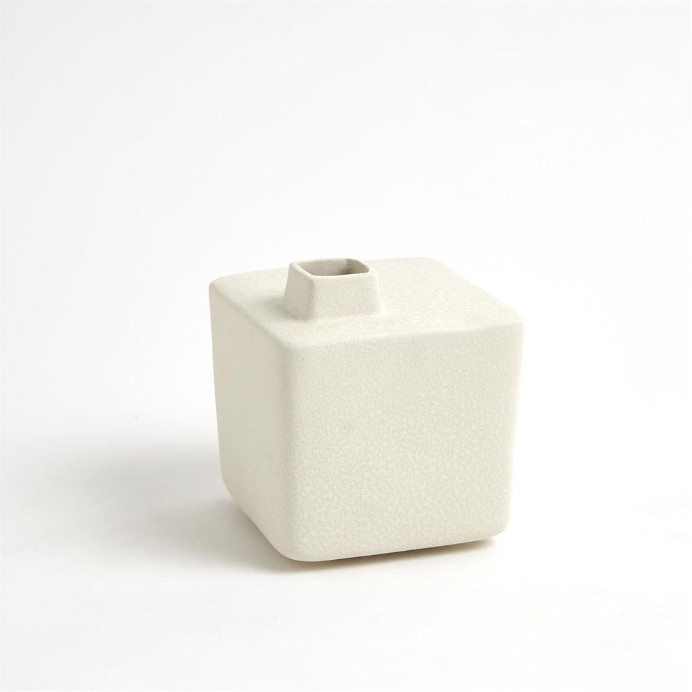 GLOBAL VIEWS - Square Chimney Vase, Small