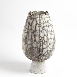 Thumbnail of Global Views - Crackled Footed Vase, Large