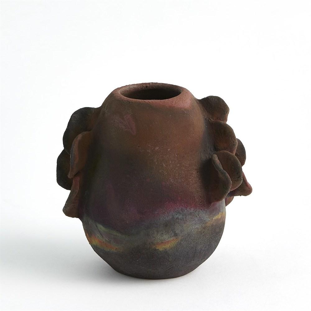 Global Views - Ruffled Side Vase