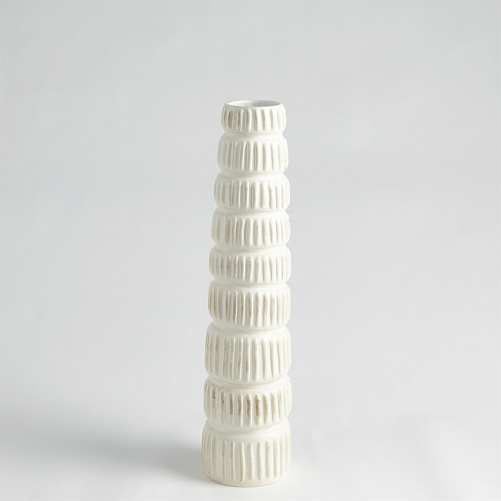 GLOBAL VIEWS - Totem Vase, Medium