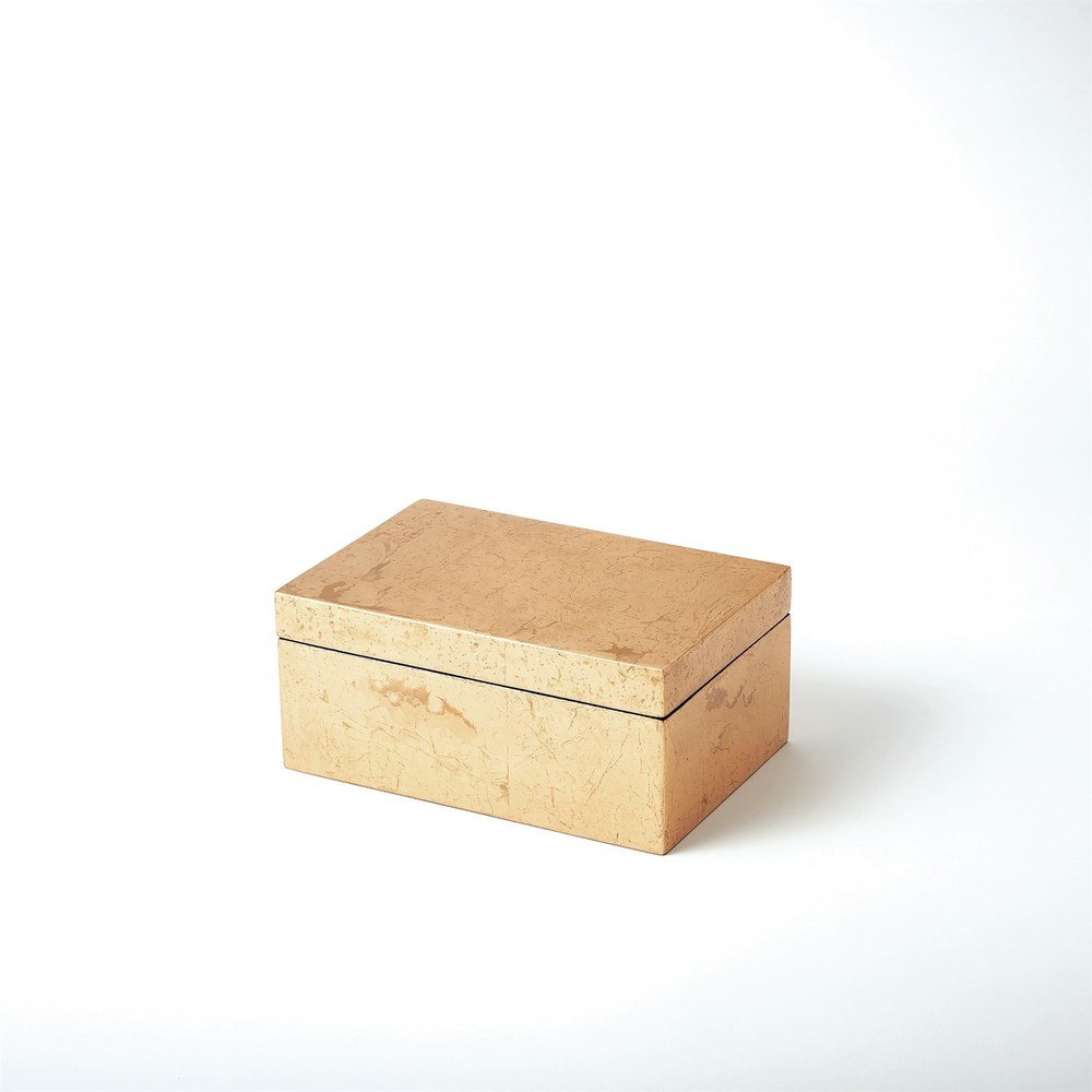 Global Views - Luxe Gold Leaf Box