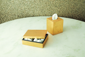 Thumbnail of GLOBAL VIEWS - Luxe Gold Leaf Amenity Box