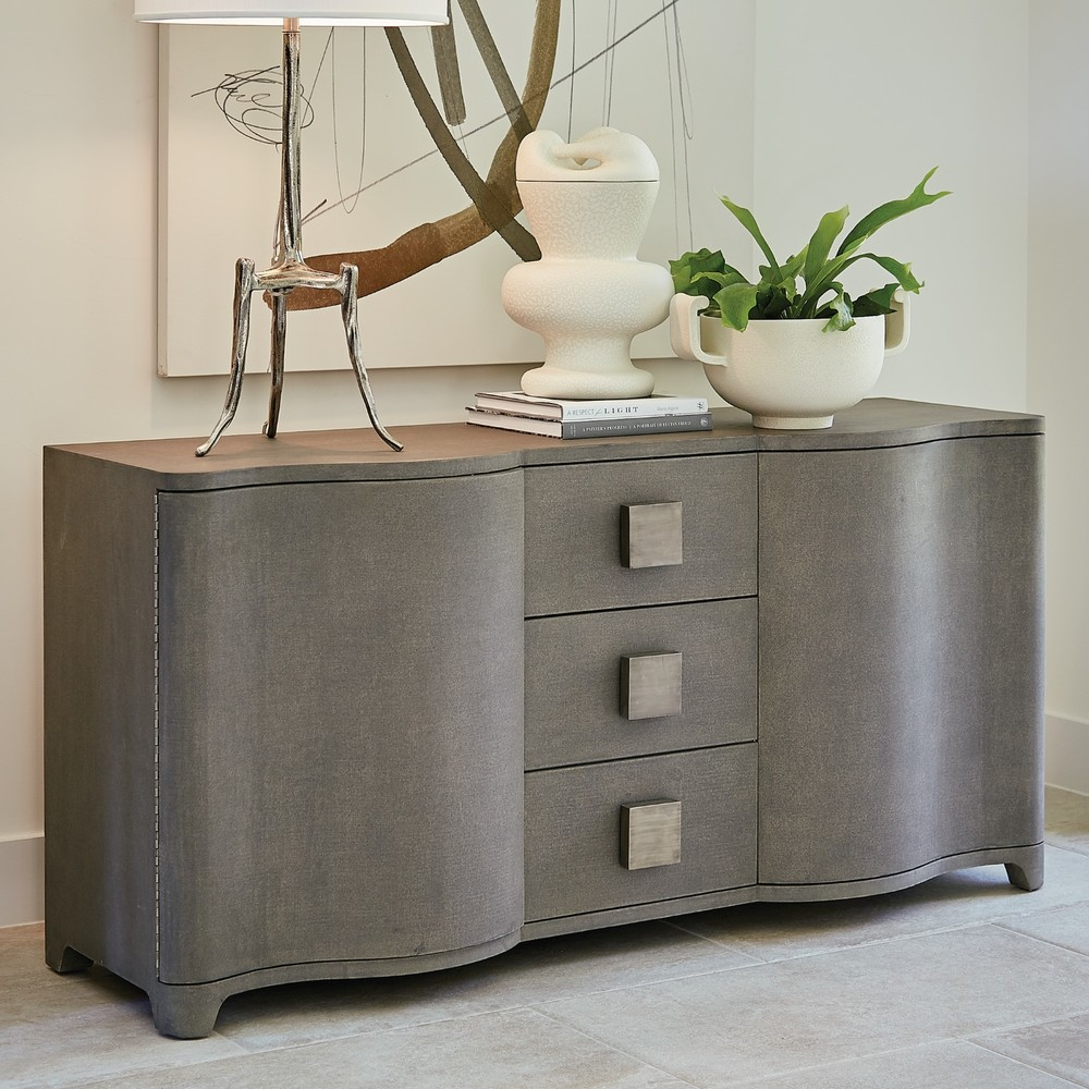 Global Views - Toile Linen Credenza