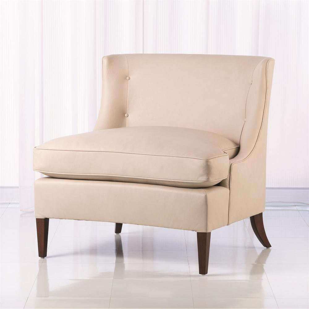 Global Views - Severn Leather Lounge Chair