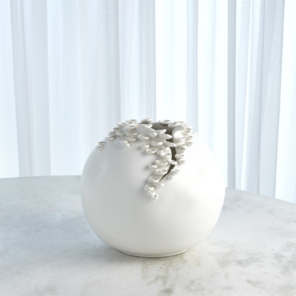 Global Views - Cascading Reef Vase, Short