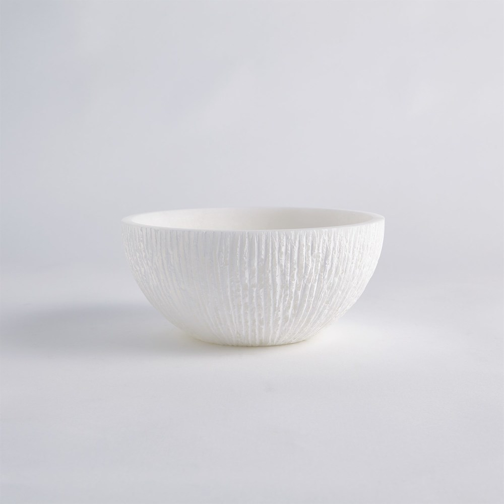 Global Views - Chiseled Alabaster Bowl, Large