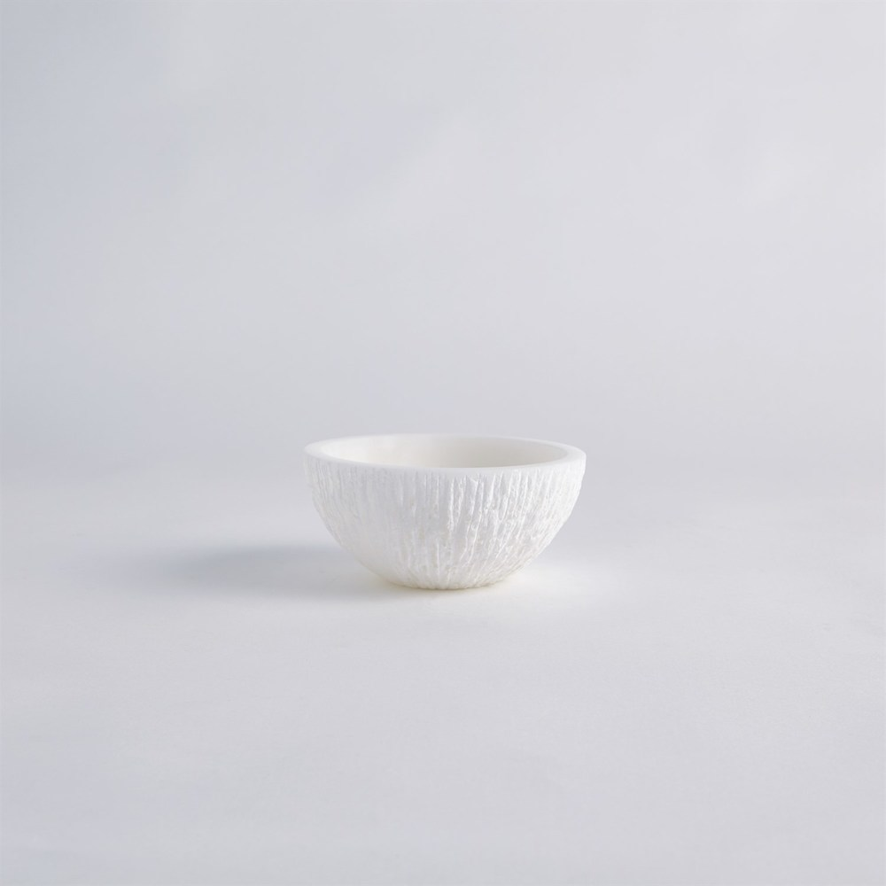 Global Views - Chiseled Alabaster Bowl, Small