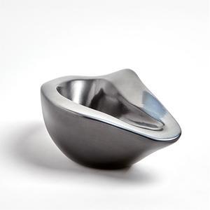 Thumbnail of Global Views - Formation Bowl, Black/Platinum, Small