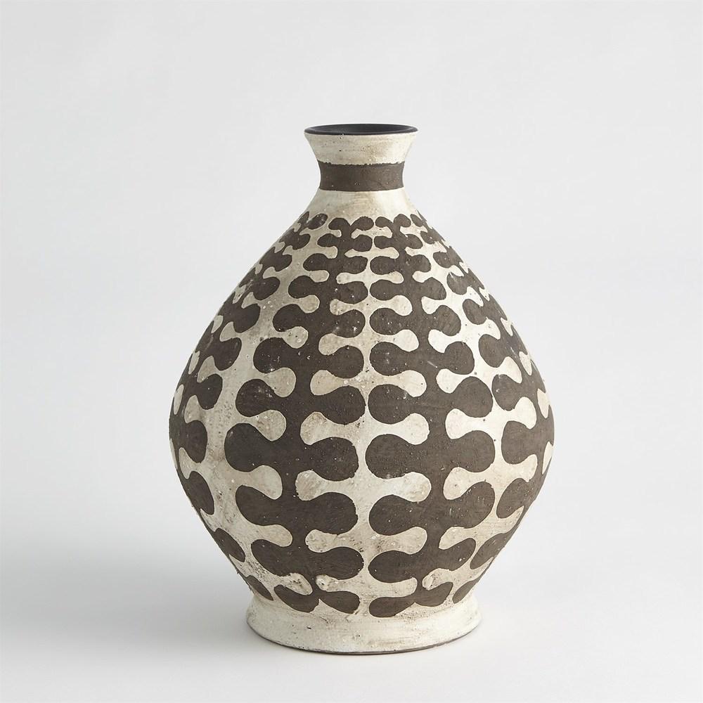 GLOBAL VIEWS - Interlock Round Vase