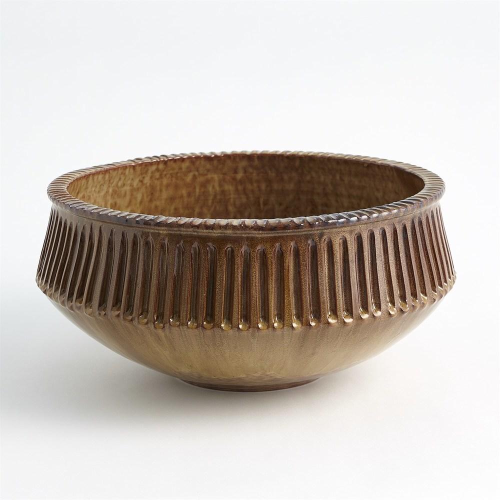 Global Views - Carved Bowl
