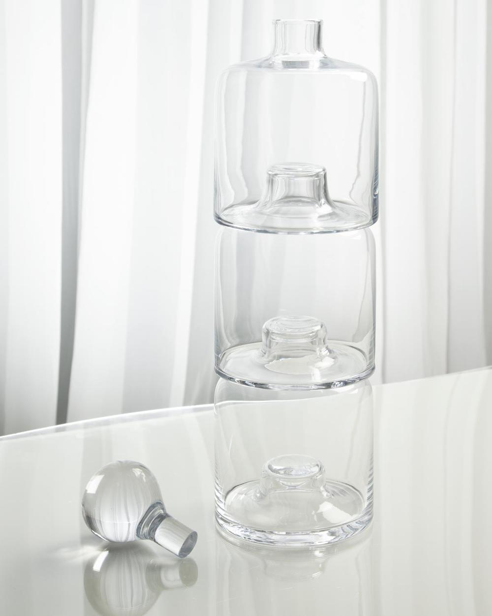 Global Views - Triple Stacking Decanter