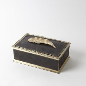 Thumbnail of Global Views - Leaf Metal Box