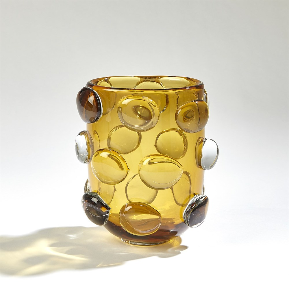 GLOBAL VIEWS - Rondelle Vase, Small