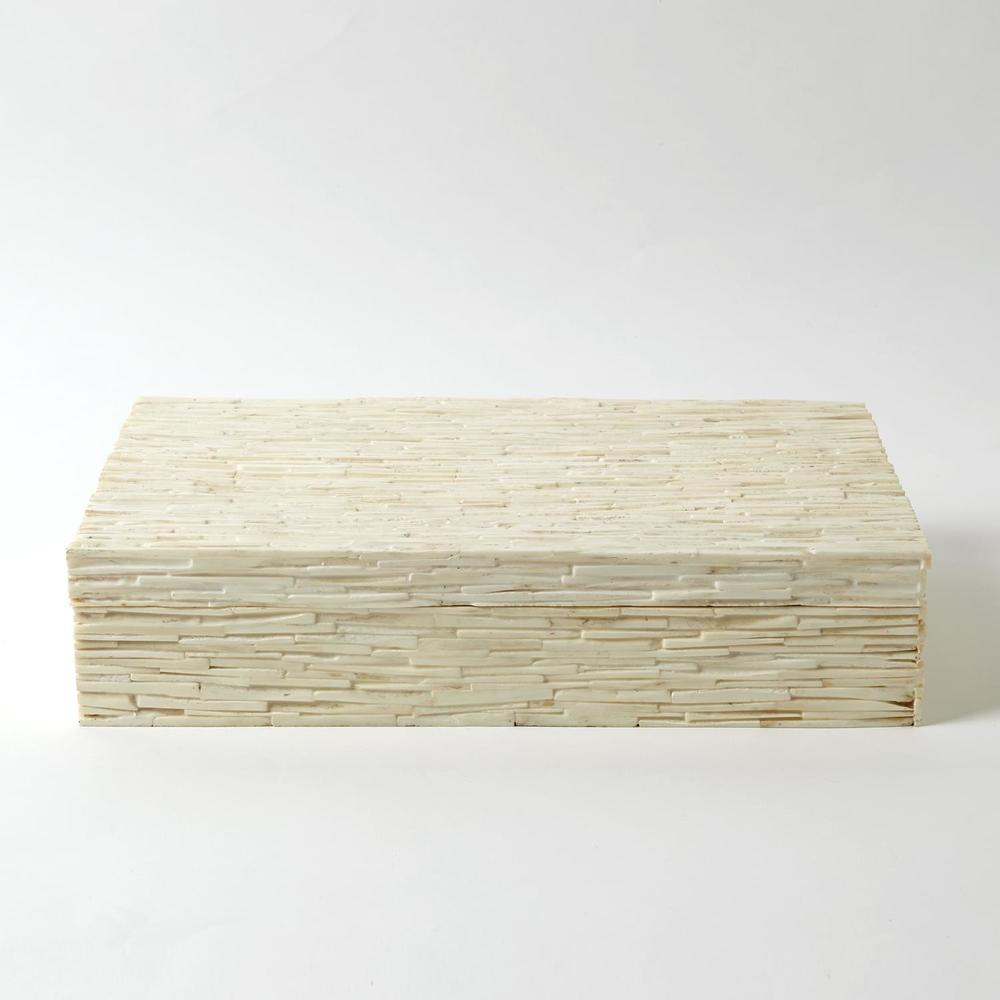 Global Views - Chiseled Bone Storage Box
